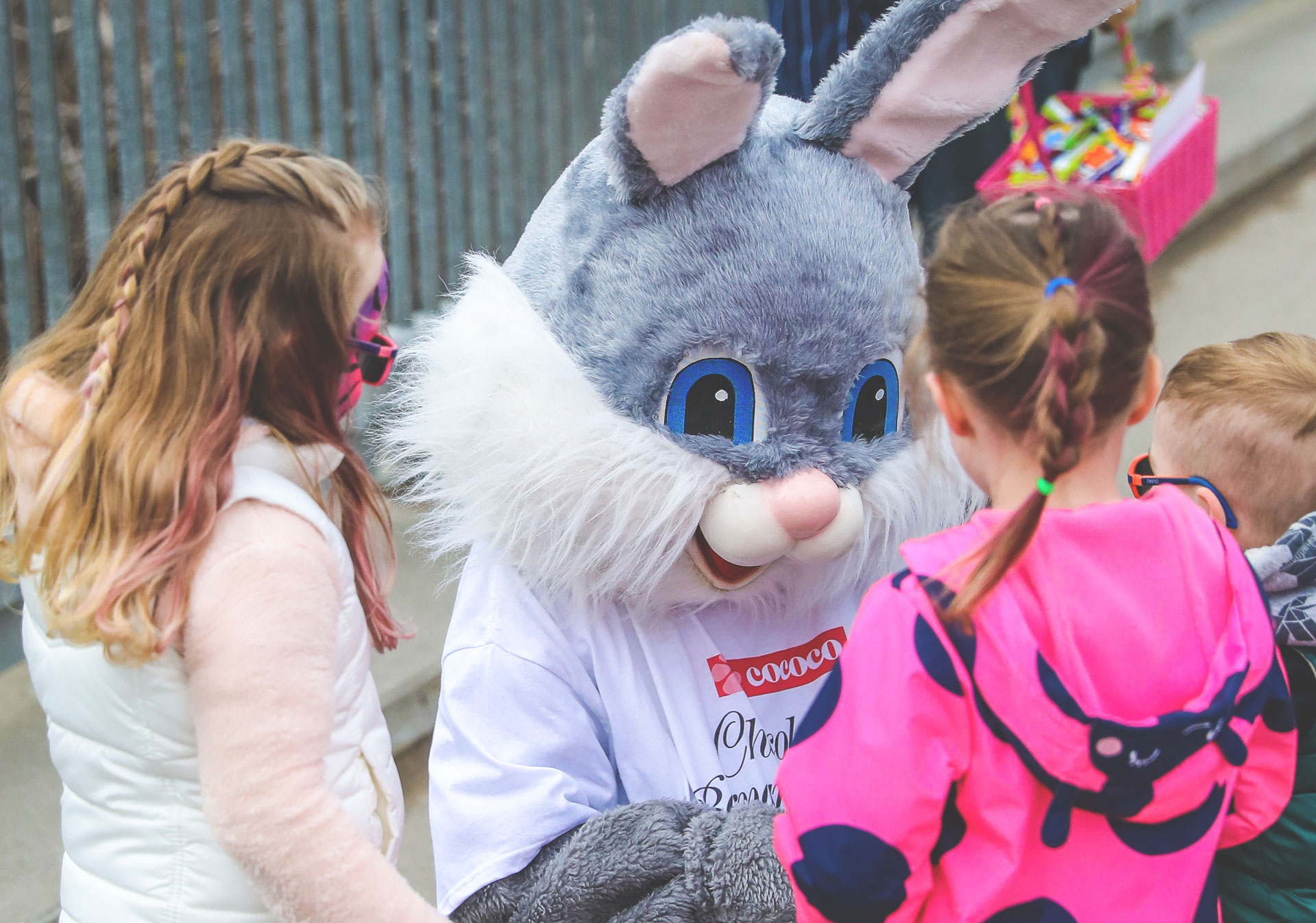 Meet the Easter Bunny at the Calgary Zoo.
