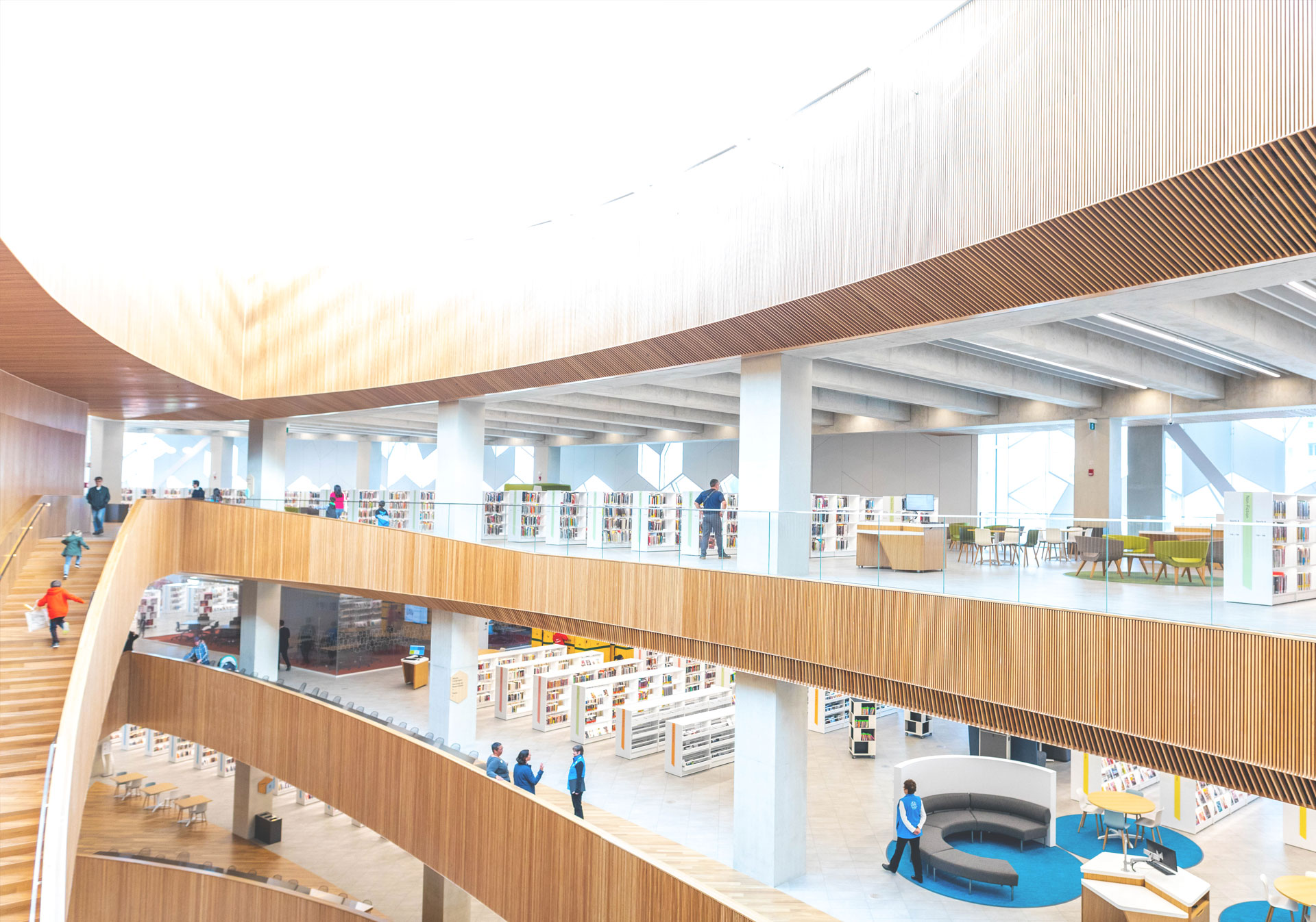 Explore the New Central Library in Calgary.